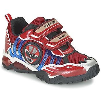 Παπούτσια Αγόρι Χαμηλά Sneakers Geox J SHUTTLE B. B Red