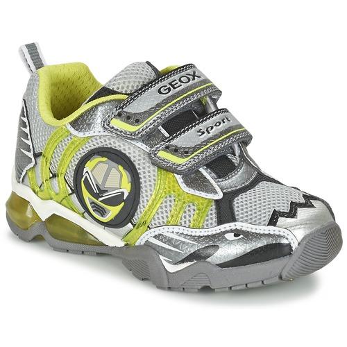 Παπούτσια Αγόρι Χαμηλά Sneakers Geox J SHUTTLE B. B Grey / Citron