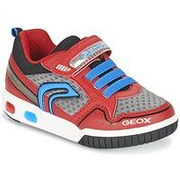 Παπούτσια Αγόρι Χαμηλά Sneakers Geox J GREGG B Red / μπλέ