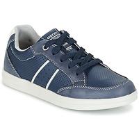 Παπούτσια Αγόρι Χαμηλά Sneakers Geox J ANTHOR B. B MARINE / άσπρο