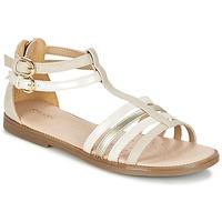 Παπούτσια Κορίτσι Σανδάλια / Πέδιλα Geox J S.KARLY G. D Beige