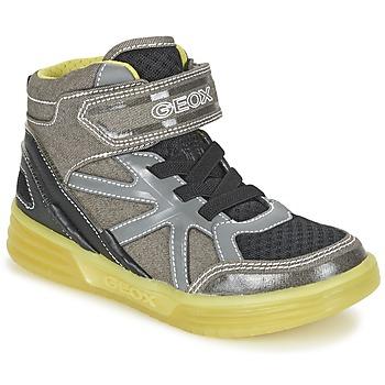 Παπούτσια Αγόρι Ψηλά Sneakers Geox J ARGONAT B. B Grey / Citron