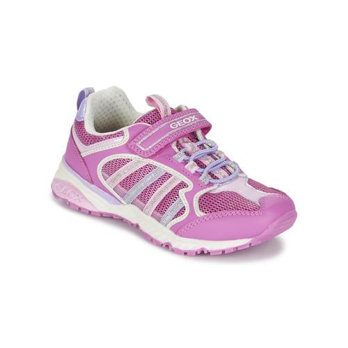 Παπούτσια Κορίτσι Χαμηλά Sneakers Geox J BERNIE G. A ροζ / LILA