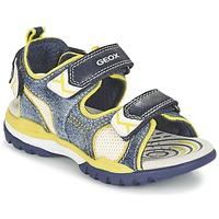 Παπούτσια Αγόρι Σπορ σανδάλια Geox J BOREALIS B. D Marine / Citron