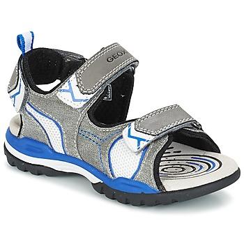 Παπούτσια Αγόρι Σπορ σανδάλια Geox J BOREALIS B. D Grey / μπλέ
