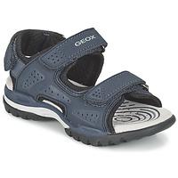 Παπούτσια Αγόρι Σπορ σανδάλια Geox J BOREALIS B. B Marine