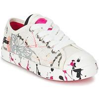 Παπούτσια Παιδί Χαμηλά Sneakers Geox J CIAK G. D Άσπρο / Ροζ
