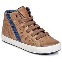 Παπούτσια Αγόρι Ψηλά Sneakers Geox J ALONISSO B. B Cognac