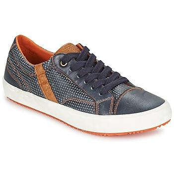 Παπούτσια Αγόρι Χαμηλά Sneakers Geox J ALONISSO B. A MARINE / Brown