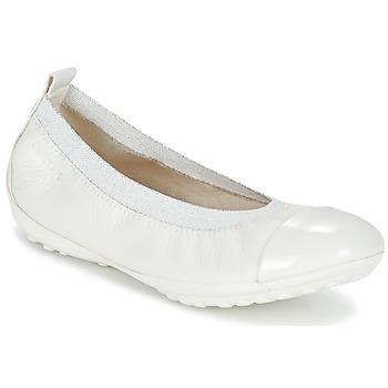 Παπούτσια Κορίτσι Μπαλαρίνες Geox J PIUMA BALL B Άσπρο