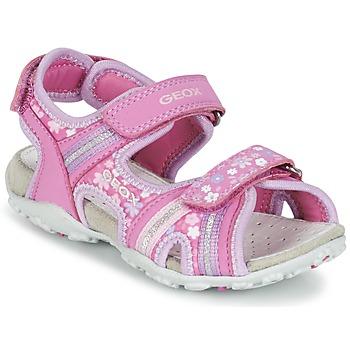Παπούτσια Κορίτσι Σπορ σανδάλια Geox J S.ROXANNE A ροζ