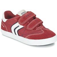 Παπούτσια Αγόρι Χαμηλά Sneakers Geox J KIWI B. M Red / Marine