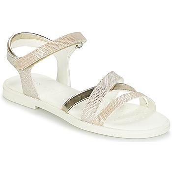 Παπούτσια Κορίτσι Σανδάλια / Πέδιλα Geox J S.KARLY G.D Beige / Gold