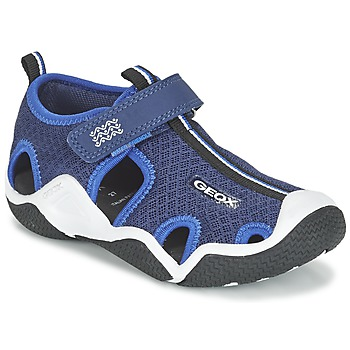 Παπούτσια Αγόρι Σπορ σανδάλια Geox J WADER C MARINE