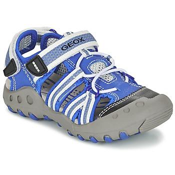 Παπούτσια Αγόρι Σπορ σανδάλια Geox J SAND.KYLE C μπλέ / άσπρο