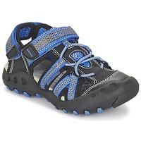 Παπούτσια Αγόρι Σπορ σανδάλια Geox J SAND.KYLE C Black / μπλέ