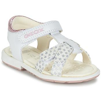 Παπούτσια Κορίτσι Σανδάλια / Πέδιλα Geox B SAN.VERRED D άσπρο