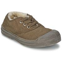 Παπούτσια Παιδί Χαμηλά Sneakers Bensimon TENNIS FOURREES Brown