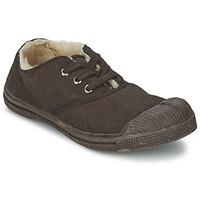 Παπούτσια Παιδί Χαμηλά Sneakers Bensimon TENNIS FOURREES Σοκολά