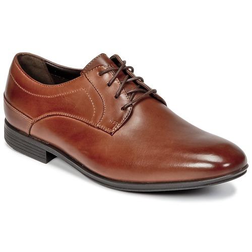 Παπούτσια Άνδρας Derby Rockport SC PLAIN TOE Brown