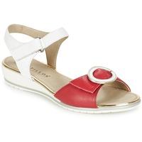 Παπούτσια Γυναίκα Σανδάλια / Πέδιλα Pitillos MERVA άσπρο / Red