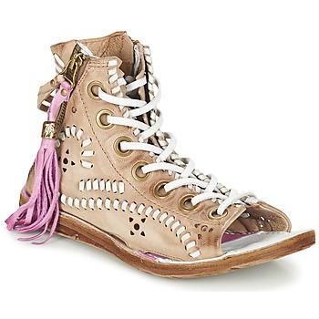 Παπούτσια Γυναίκα Σανδάλια / Πέδιλα Airstep / A.S.98 RAMOS Brown /  CLAIR