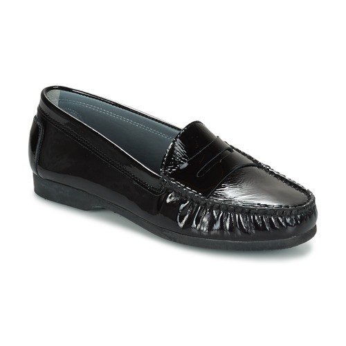 Παπούτσια Γυναίκα Μοκασσίνια Arcus DAME Black
