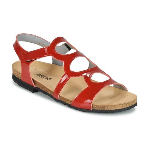 Παπούτσια Γυναίκα Σανδάλια / Πέδιλα Arcus BERNER Red