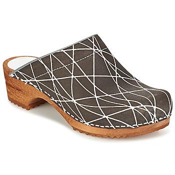 Παπούτσια Γυναίκα Σαμπό Sanita ARLA ANTHRACITE