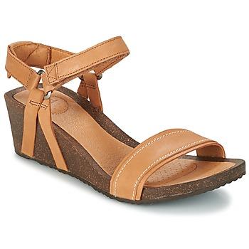 Παπούτσια Γυναίκα Σανδάλια / Πέδιλα Teva YSIDRO STITCH WEDGE COGNAC