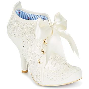 Παπούτσια Γυναίκα Χαμηλές Μπότες Irregular Choice ABIGAIL'S THIRD PARTY Κρεμ
