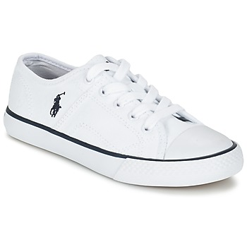 Παπούτσια Παιδί Χαμηλά Sneakers Ralph Lauren DYLAND Άσπρο