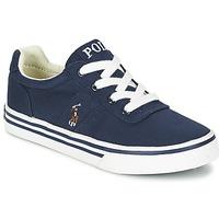 Παπούτσια Αγόρι Χαμηλά Sneakers Polo Ralph Lauren HANFORD Marine