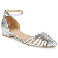 Παπούτσια Γυναίκα Μπαλαρίνες Ravel MEDINA Silver