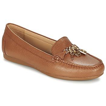 Παπούτσια Γυναίκα Μοκασσίνια MICHAEL Michael Kors SUKI MOC Brown