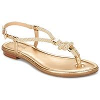 Παπούτσια Γυναίκα Σανδάλια / Πέδιλα MICHAEL Michael Kors HOLLY Gold