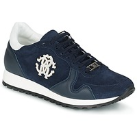Παπούτσια Άνδρας Χαμηλά Sneakers Roberto Cavalli 2058A MARINE