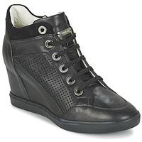 Παπούτσια Γυναίκα Ψηλά Sneakers Geox ELENI C Black