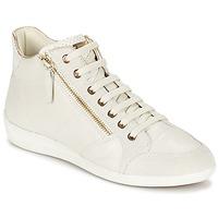 Παπούτσια Γυναίκα Ψηλά Sneakers Geox MYRIA άσπρο