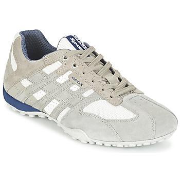 Παπούτσια Άνδρας Χαμηλά Sneakers Geox SNAKE Grey / άσπρο