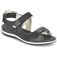 Παπούτσια Γυναίκα Σπορ σανδάλια Geox D SAND.VEGA A Black