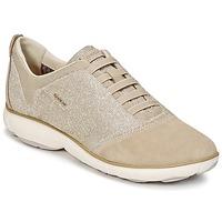 Παπούτσια Γυναίκα Χαμηλά Sneakers Geox D NEBULA G TAUPE