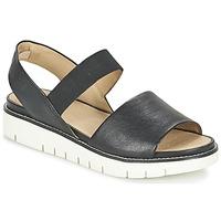 Παπούτσια Γυναίκα Σανδάλια / Πέδιλα Geox D DARLINE C Black