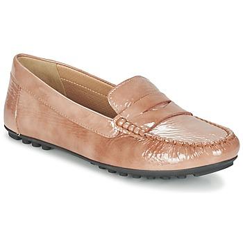 Παπούτσια Γυναίκα Μοκασσίνια Geox D LEELYAN B Beige