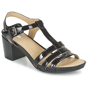 Παπούτσια Γυναίκα Σανδάλια / Πέδιλα Geox D SYMI C Black