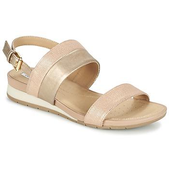 Παπούτσια Γυναίκα Σανδάλια / Πέδιλα Geox D FORMOSA C ροζ / Gold