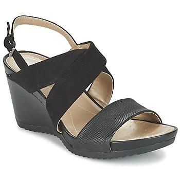Παπούτσια Γυναίκα Σανδάλια / Πέδιλα Geox D NEW RORIE A Black