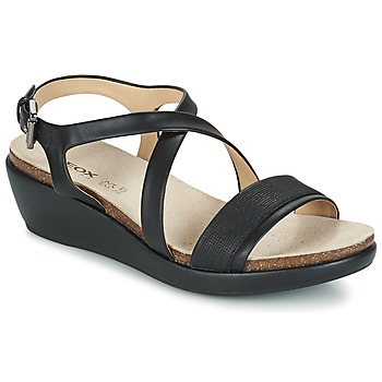 Παπούτσια Γυναίκα Σανδάλια / Πέδιλα Geox D ABBIE A Black