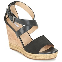 Παπούτσια Γυναίκα Σανδάλια / Πέδιλα Geox D JANIRA E Black