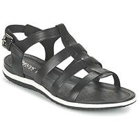 Παπούτσια Γυναίκα Σανδάλια / Πέδιλα Geox D SAND.VEGA A Black
